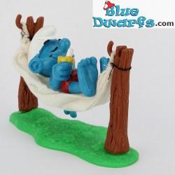 40226: Smurf in hangmat