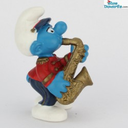 20485: Smurf with saxophone (Band 2002)