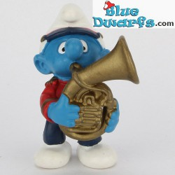 20482: Horn, Smurf with Tenor Horn (Band 2002)