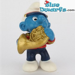 20483: Smurf with French Horn (Band 2002)