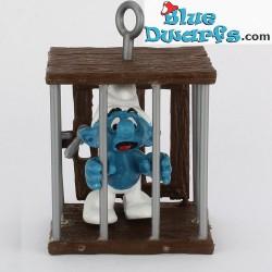40212: Smurf in cage (Supersmurf)