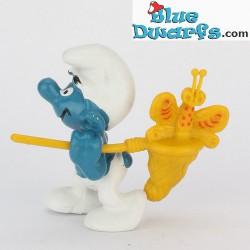 40209: Butterfly Catcher Smurf *yellow* (Supersmurf)
