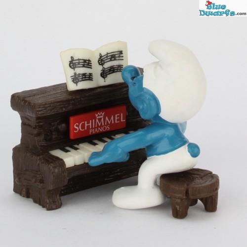 40229: Piano Smurf PROMO: Schimmel (Supersmurf)