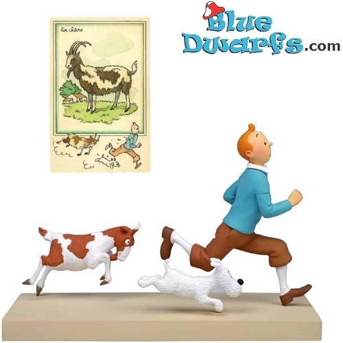Tintin OSCAR *TRANSLUCIDE* (29.5 cm/ Moulinart)