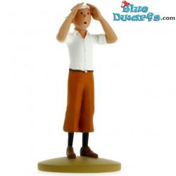 """Statuette Tintin:  """"Tintin Cosmonaute"""" (Moulinsart/ 2014)"""