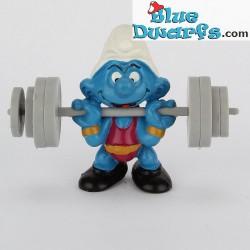 40507: Weightlifter Smurf (Supersmurf)