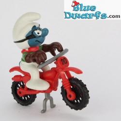 40231: Motorcross Smurf