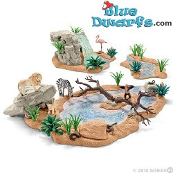 Wild life Big adventure at the waterhole (Schleich/ 42321)