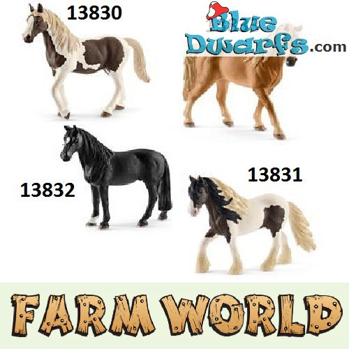 Schleich Pferde: 4x Pferde Horseclub 2017 (Farmworld ...