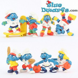 PROMO: Mc Donalds Set 1998 (8 smurfs)