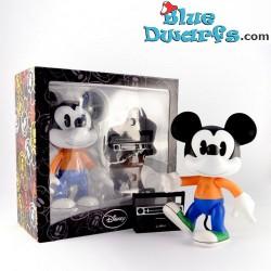 Leblon Delienne Mickey Mouse avec radio (+/- 22 cm)
