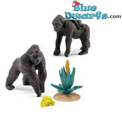 Schleich Wildlife: Gorilla Familie (Schleich 42276)