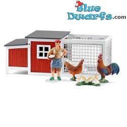 Schleich Farmlife: Chicken coop (Schleich 42191)