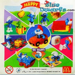 PROMO: Mc Donalds Set 2002 (8 smurfs)