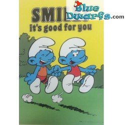 "Poster ""Smile! It's good for you"" NR. 7610 (49x34 cm/ 1981)"
