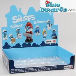 20768- 20775 (2015): Office Smurf Set (8 smurfs)
