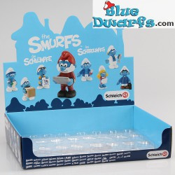 20768- 20775 (2015): Office Smurf Set (8 smurfs)