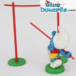 40506: Pole Vaulter Smurf (Supersmurf)