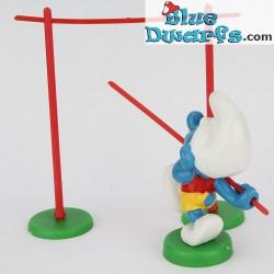 40506: Pole Vaulter Smurf (Supersmurf)