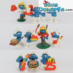 PROMO: Mc Donalds Set 1996 (10 puffi)