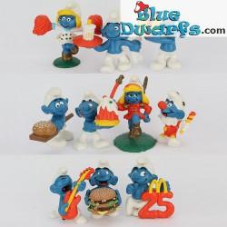 PROMO: Mc Donalds Set 1996 (10 smurfen)