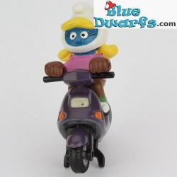 40254: Motorrollerschlumpfine (Super Schlumpf)