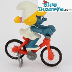 40236: Smurfin op fiets (Supersmurfin)