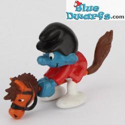 40214: Smurf on Hobby horse