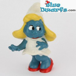 20034: Smurfette with hands in hair