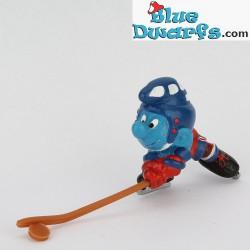 20032: Eishockeyspieler Schlumpf *Outfit: blau*