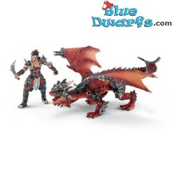 Eldrador: Warrior with dragon (Schleich 70128)
