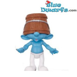 Clumsy Smurf with bucket *Jakks Pacific * (+/- 7cm)