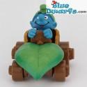 40264: Smurf in car (Supersmurf/MIB)