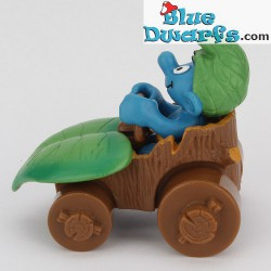 40264: Smurf in car (Supersmurf/MIB)
