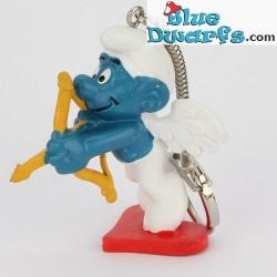 20111: Cupid Smurf (keyring)