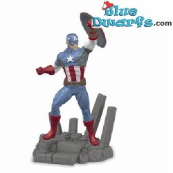 Schleich Marvel: Spiderman, Captain America, Hulk, Black Widow, Venom, Falcon (21502-21507)