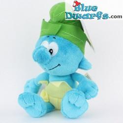 Smurfen knuffel: Jungle Smurf  *Jakks Pacific* (beaniebag/+/- 20 cm)