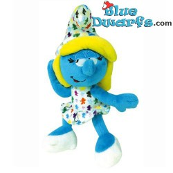 Smurf Plush: Smurfette *mini colour smurfs*  (+/- 20 cm)