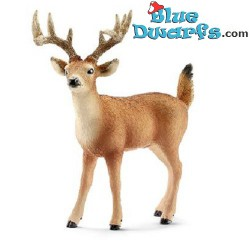 Schleich animals: White-tailed buck (14709, +/- 10x 4,5x 10,5cm)