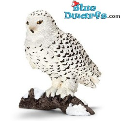 Schleich animals: Snow owl (14671, +/- 5,5x 5,5x 5,5cm)