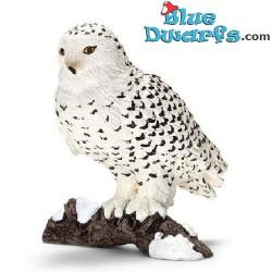 Schleich animals: Snow owl (14671, +/- 5,5x 5,5x 5,5cm)