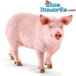 Schleich Tiere: Schwein (13782, +/- 10x 2,9x 5,5cm)