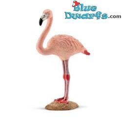 Schleich Tiere: Flamingo (14748, +/- 5,3x 2,7x 8,4cm)