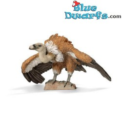 Schleich animals: Griffon vulture walking (14691, +/- 6x 6x 6 cm)