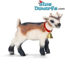 Schleich animals: Domestic goat kid (13720, +/- 5x 2,5x 4cm)