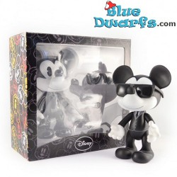 Leblon Delienne Mickey with black glasses (+/- 22 cmzw)