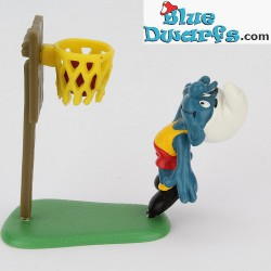 40512: Basketball Smurf (Super smurf/ MIB)