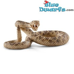 Schleich animals: Rattle snake (13740, +/- 6,3 x 3,9 x 2,5 cm)