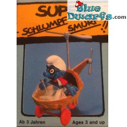 40233: Helicopter Smurf