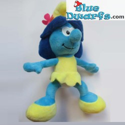 Smurf Plush: Smurfette *black/white*  (+/- 20 cm)